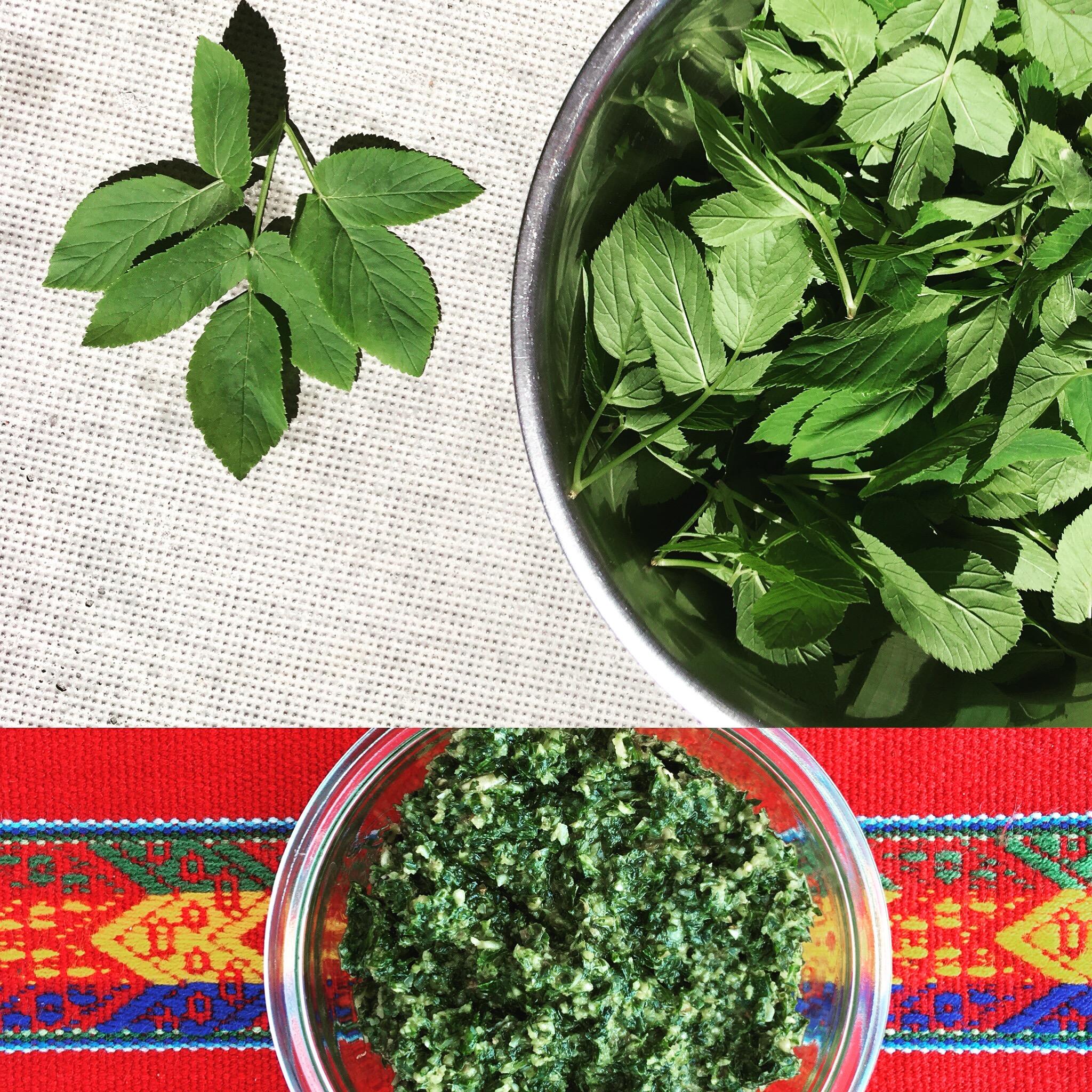 Pesto van Zevenblad